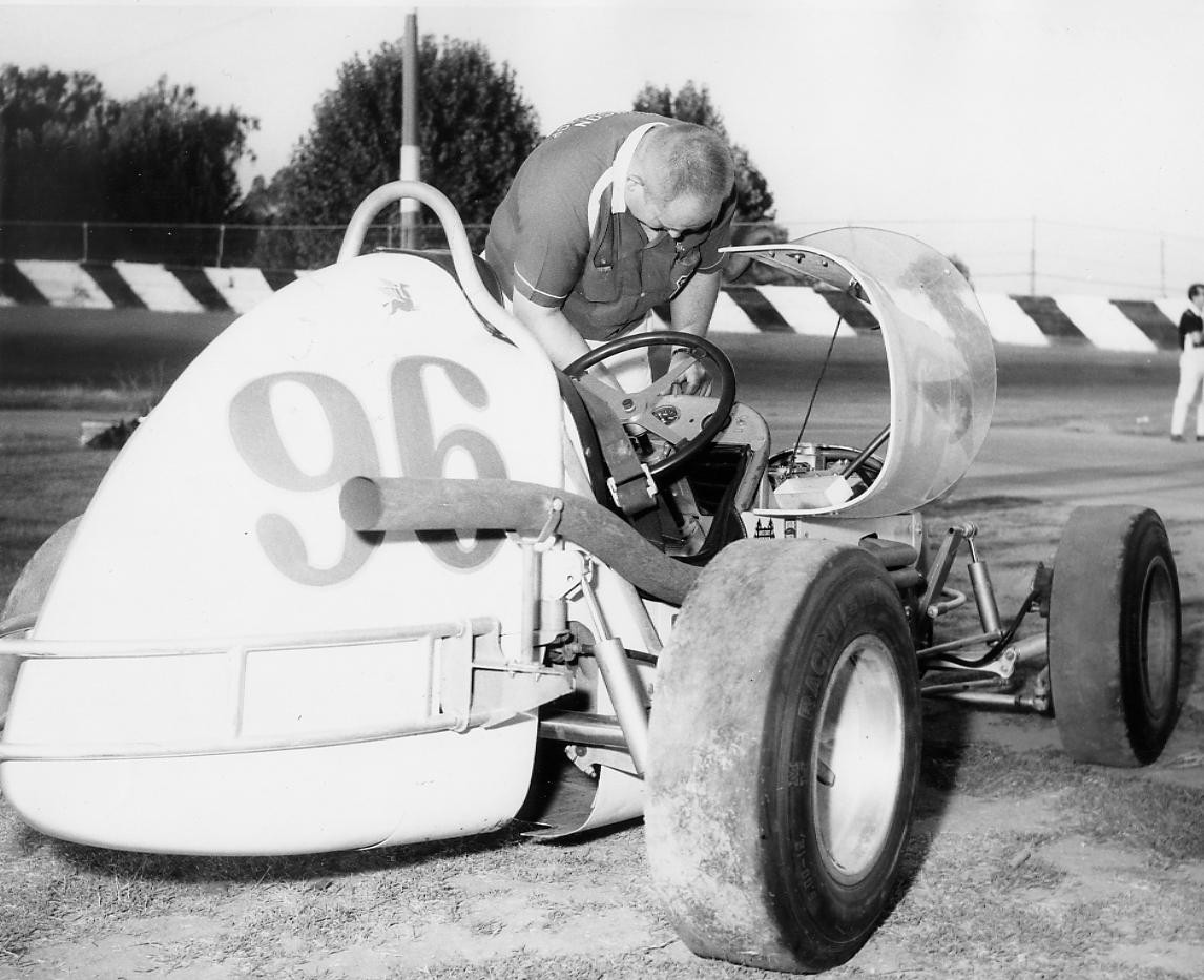 12 1964 #96 O.Johnson at Kerney Bowel Fresno