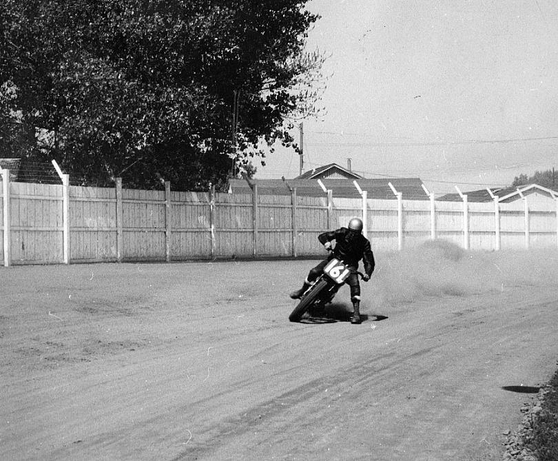 2 1953 #161 G. Benson Tulare Half Mile