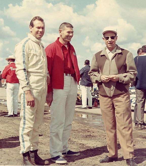 27 1968 G.Benson, V. Conze, Q. Epperly Hanford Speedway