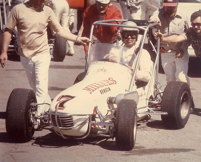 40 1974 #7  G.Benson B.Miller GMB Sesco San Jose Speedway.